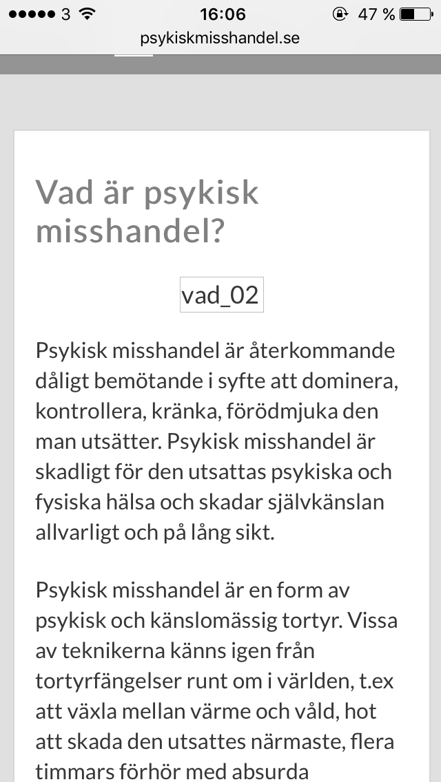www.psykiskmisshandel.se